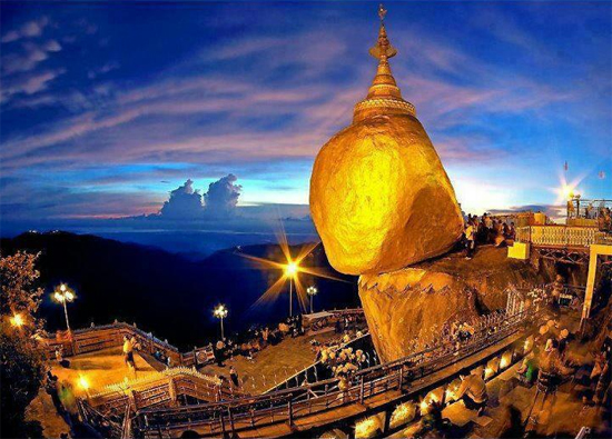 Comment se rendre au Rocher d'Or Myanmar